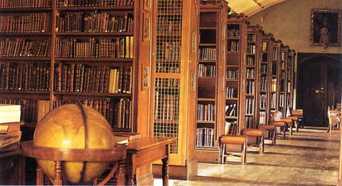 The Magdalen College Old Library