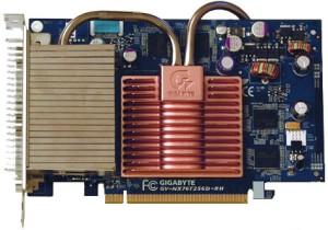 Gigabyte NX76t GeForce 7600 GT