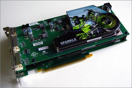 Sparkle SPPX79GX2 GeForce 7950 GX2