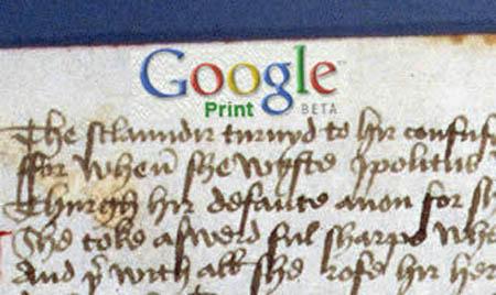 Google Print illustratie