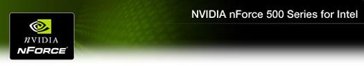 nVidia nForce 500 series for Intel