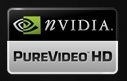 nVidia PureVideo HD logo