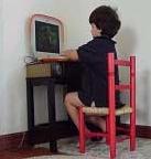 Van jongsaf vertrouwd met de computer