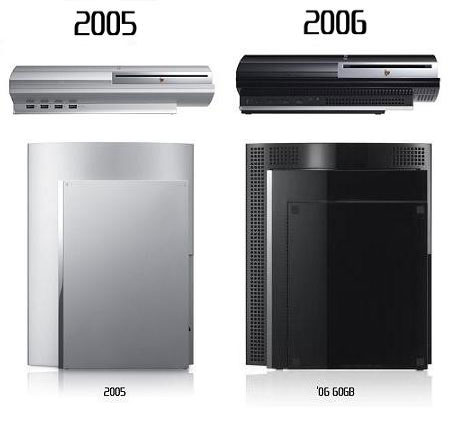 Playstation 3 ontwerpverandering