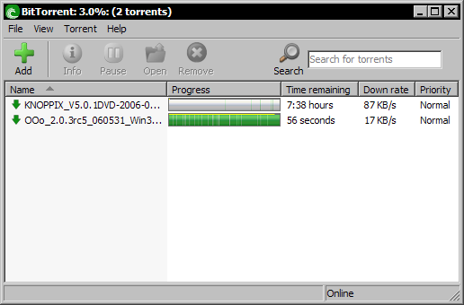 BitTorrent 4.9.9 beta