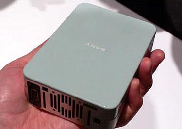 Kleine projector van Sony