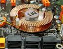 DFI LanParty UT NF590 SLI Intel Edition: chipset-fan/sata-headers