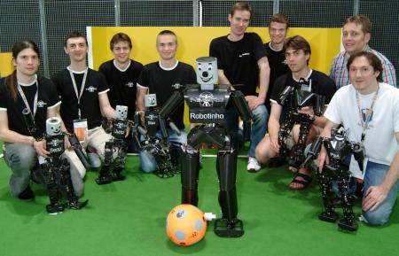 Duits humanoid-team