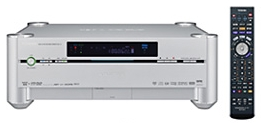 Toshiba RD-A1 - 1TB harddiskrecorder met hd-dvd-brander (vooraanzicht met AB)