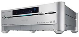 Toshiba RD-A1 - 1TB harddiskrecorder met hd-dvd-brander (driekwart vooraanzicht)