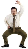 Ricky Gervais als David Brent