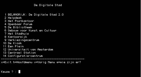 De Digitale Stad in 1994