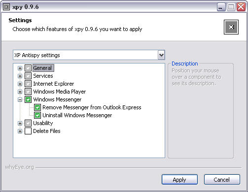 xpy 0.9.6 screenshot
