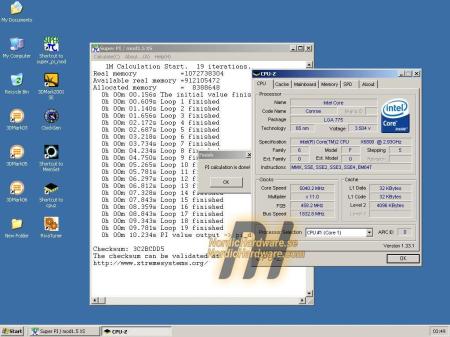 Intel Core 2 Extreme X6800 @ 5040MHz (klein)