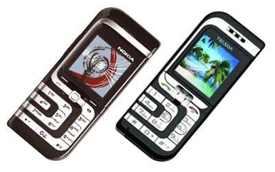 Nokia 7260 versus Telsda A317