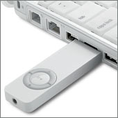 iPod Shuffle in iBook