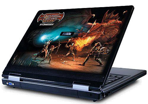 Rock Pegasus 650 Dungeons ad Dragons laptop