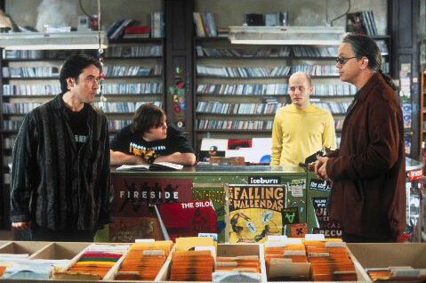 Muziekwinkel in High Fidelity