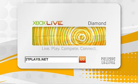 Xbox Live Diamond Card