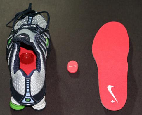 Nike+ 'Shox Turb Oh' met iPod nano-sensor
