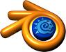 Blender logo (75 pix)