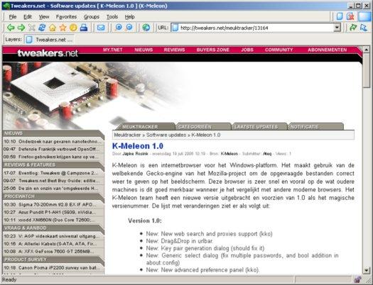 K-Meleon 1.0