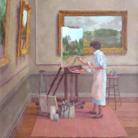 The Copyist, Barbara Nuss