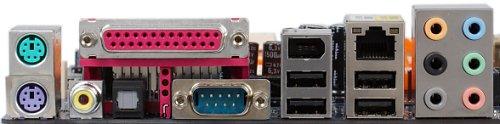 Gigabyte M57SLI-S4 nForce-570-mamaplank (achterkant)