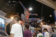 Comic-Con Sony booth