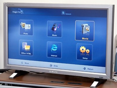 Samsung 460PN met MagicNet