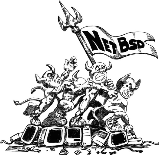 NetBSD plaatje