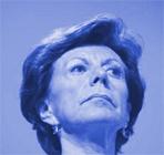 Blauwe Neelie Kroes