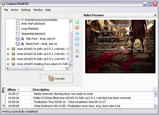 ConvertXToDVD 2.0.15.136 screenshot (resized)