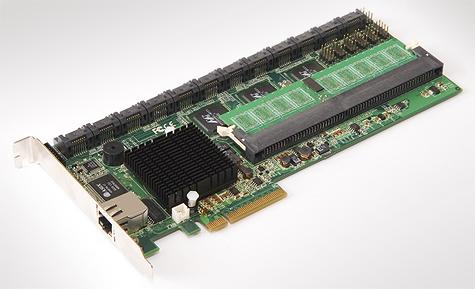 Areca ARC-1280 pcb (zijde PCIe-slot)