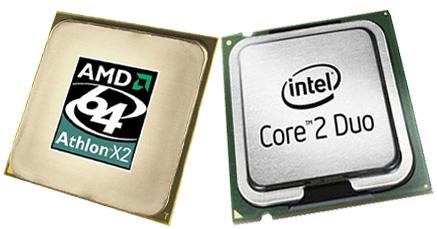 Intel Core 2 Duo en AMD Athlon X2 64