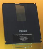 Hitachi Maxell holografische schijf