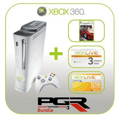 Xbox 360-bundel bij Future Shop