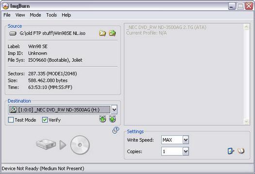 ImgBurn 2.0.0.0 screenshot (resized)
