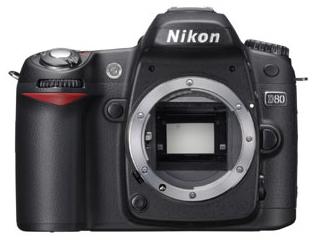 Nikon D80-body