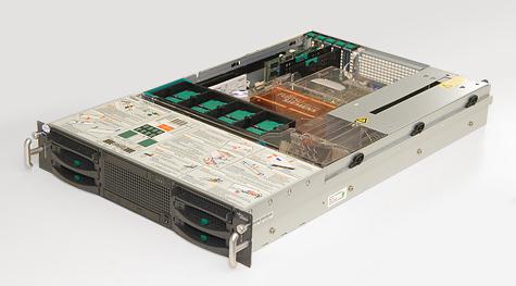 Fujitsu-Siemens Primergy RX300 S3 - Overzicht