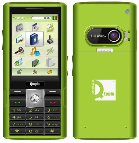Trolltech Qtopia Greenphone