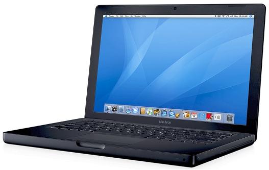 Apple MacBook (zwart)