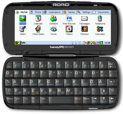 Road HandyPC Linux-based telefoon