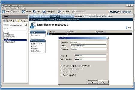 Centeris Likewise Management Suite 2.0 - User toevoegen