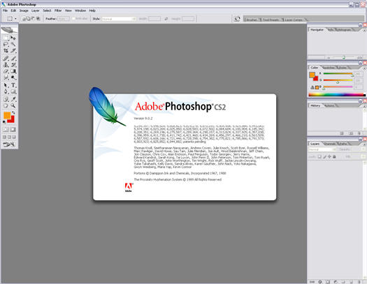 Adobe Photoshop CS2 screenshot (resized)