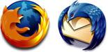 Firefox en Thunderbird (logo's)