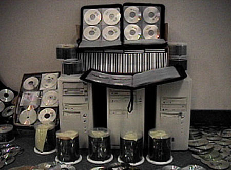 cd-kopieerapparatuur / piraterij