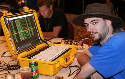 Kyle Williams met Janus Computer