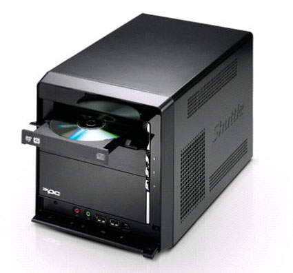 Shuttle Core 2 Duo-barebone P2 3700