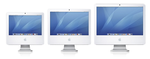 Apple iMac-trio